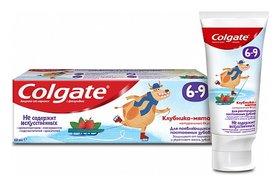 Зубная паста Клубника-мята с фторидом для детей 6-9 лет  Colgate