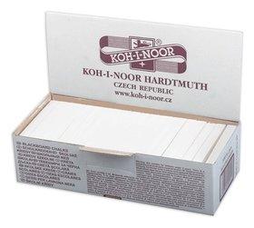 Мел белый KOH-I-NOOR, набор 100 шт., квадратный   Koh-i-noor