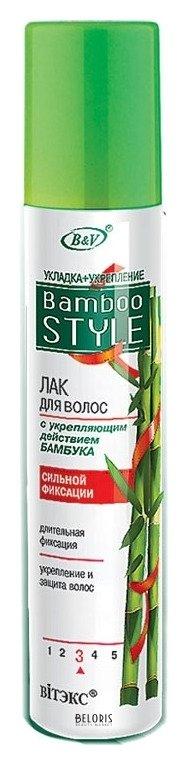 Лак для волос BelitaЛак для волос<br>Лак обеспечивает длительную и надежную фиксацию. Содержит экстракт бамбука, который укрепляет структуру волос, защищает ее от вредного воздействия внешних факторов. Лак придает волосам естественный здоровый блеск. Объем: 215 мл, 500 мл<br>Пол: Женский; Линейка: Bamboo Style; Объем мл: 215;