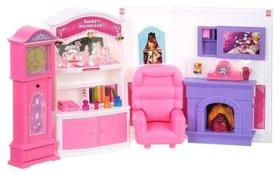 """Набор мебели: комната с камином """"Уютный дом""""  Play Smart (Joy Toy)"""