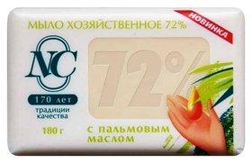 Хозяйственное мыло Традиционное 72% с пальмовым маслом  Невская косметика