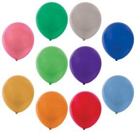 """Шары воздушные золотая сказка, 12"""" (30 см), комплект 50 штук, металлик, 10 цветов, пакет  Золотая сказка"""