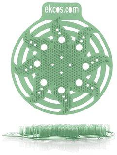 """Коврики-вставки для писсуара, на 30 дней каждый, аромат """"Сосна"""", цвет зеленый  Ekcos"""