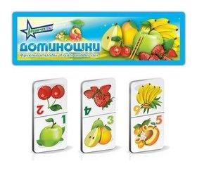 """Доминошки """"Фрукты и ягоды""""  Нордпласт"""