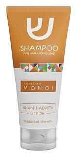 Шампунь для тонких, обезвоженных волос, требующих дополнительного объема Tahitian Monoi  Alan Hadash