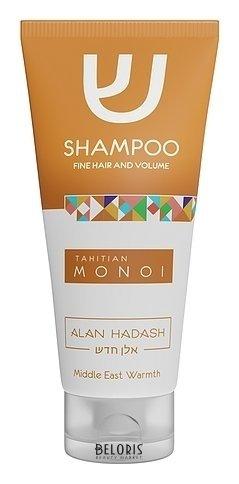 Шампунь для тонких, обезвоженных волос, требующих дополнительного объема Tahitian Monoi Alan Hadash Tahitian Monoi