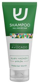 Шампунь для тусклых и сухих волос Israeli Avocado  Alan Hadash