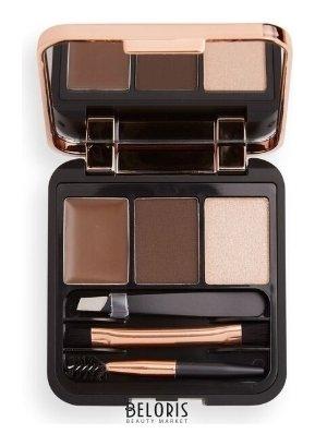 Тени для бровей Makeup Revolution