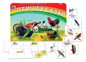 Настольная игра Птичий базар  Радуга