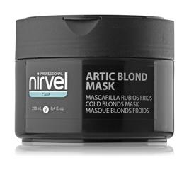Маска для восстановления, увлажнения волос и поддержания холодных оттенков блонд Artic blond  Nirvel