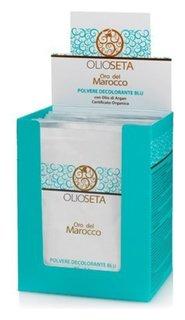 Голубой порошок для обесцвечивания волос с аргановым маслом  Barex Italiana