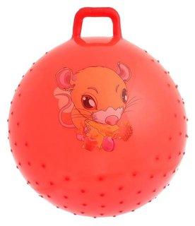 Мяч прыгун с ручкой массажный диаметр 65 см  No Name Игрушки