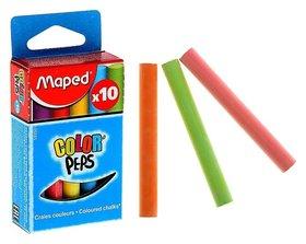 Мелки цветные Color Peps 10 штук  Maped