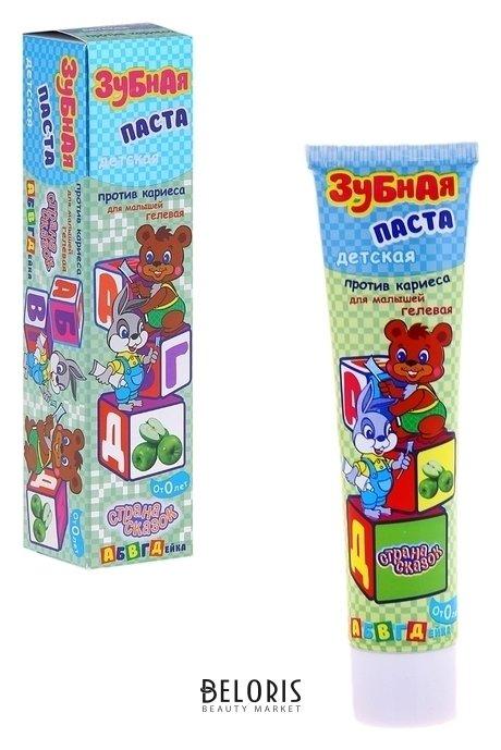 Купить Детская зубная паста против кариеса Абвгдейка , 40 г, Страна сказок, Россия