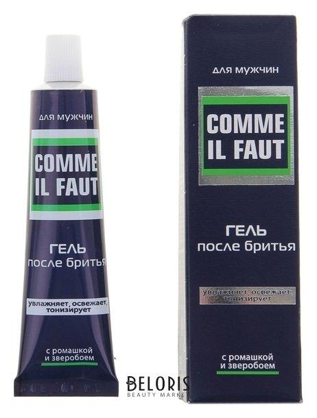 Купить Гель после бритья комильфо в тубе 25х125 в футляре, 39 г, Свобода, Россия