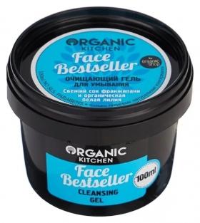 """Гель для умывания очищающий """"Face Bestseller""""  Organic Shop (Органик Шоп)"""