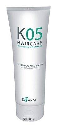 Шампунь для волос KaaralШампунь для волос<br>Густой шампунь благодаря высокой концентрации серы превосходно очищает и восстанавливает баланс кожи волосистой части головы. Устраняет и предотвращает шелушение и зуд раздраженной, чувствительной кожи. Благотворно влияет на устранение проявлений дерматитов различной этиологии, псориатических явлений, после паразитарных поражений кожи. Обладает хорошим, увлажняющим сухую кожу действием.<br>Пол: Женский; Линейка: KO5 трихологическая линия; Объем мл: 200;