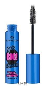 "Тушь для ресниц ""Get BIG! lashes volume boost waterproof mascara"""