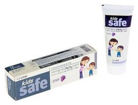 Зубная паста детская Kids Safe виноград  CJ Lion