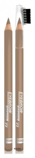 Стойкий пудровый карандаш для бровей Люкс-Визаж