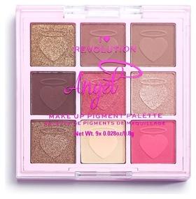 Палетка пигментов для лица Angel Make Up Pigment Palette  I Heart Revolution