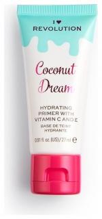 Праймер для лица увлажняющий Coconut Dream Hydrating Primer With Vitamin C And E  I Heart Revolution