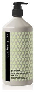 Кондиционер для придания объема с маслом облепихи и огуречным маслом  Barex Italiana