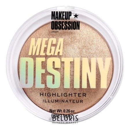 Хайлайтер для лица Mega Destiny Highlighter Makeup Obsession Mega