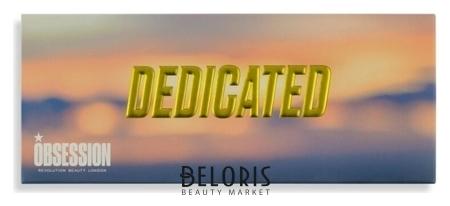 Палетка хайлайтеров для лица Dedicated Highlight Palette Makeup Obsession