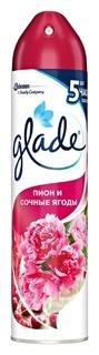 Освежитель воздуха аэрозольный Пион и сочные ягоды  Glade