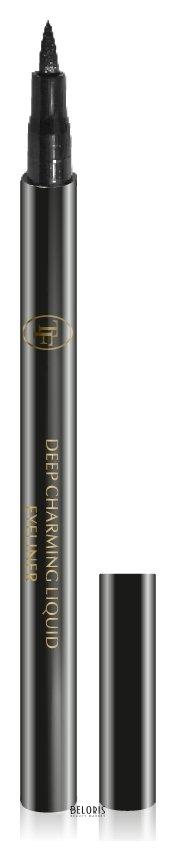 Подводка (лайнер) для глаз ТриумфПодводка (лайнер) для глаз<br>Подводка - фломастер для глаз Deep Charming Liquid Eyeliner сочетает в себе свойства карандаша и жидкой подводки: наносить её удобно, а линия получается четкой. Насыщенная пигментами формула гарантирует великолепное покрытие. Интенсивные угольно-черные пигменты. Водостойкая формула. Не содержит ароматизаторов, клинически тестирована во избежание аллергических реакций. Четкая линия Водостойкая формула<br>Пол: Женский; Вес г: 20;