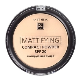 Матирующая компактная пудра для лица Mattifying compac SPF 20  Белита - Витекс