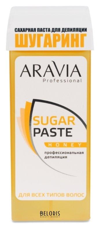 Паста для шугаринга для тела Aravia ProfessionalПаста для шугаринга для тела<br>Назначение: для всех типов волос и кожи. Зоны депиляции: бёдра, голени, руки, спина. Рабочая температура продукта: 37С Техника депиляции: бандажная, комбинированная. Расход: от 2 процедур Профессиональная сахарная паста очень мягкой консистенции для бандажной и комбинированной техник депиляции. Оптимальна для работы на больших поверхностях. Специальный картридж, предназначенный именно для шугаринга, наносит пасту тонким ровным слоем, позволяя провести депиляцию максимально быстро и экономично. Примечание: рекомендуется использовать для работы нагреватель с термостатом. Оптимальная температура сахарной пасты для работы 37-40 C. Предназначена для начинающих мастеров. Гипоаллергенный продукт.<br>Пол: Женский; Вес г: 170;