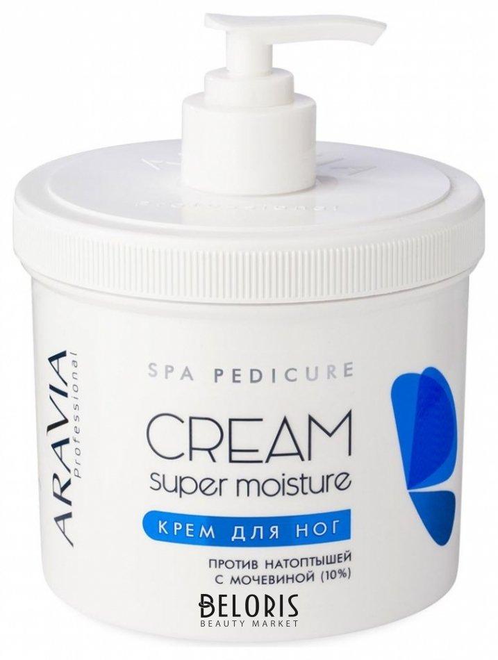 Крем для ног Aravia ProfessionalКрем для ног<br>Крем с супер увлажняющим эффектом для очень сухой кожи стоп. Решает проблемы загрубевшей кожи и гиперкератоза. Содержит 10% мочевины, которая эффективно смягчает кожу стоп, оказывает длительное увлажняющее воздействие, предотвращая появление натоптышей и трещин. Аллантоин в сочетании с натуральным маслом кокоса и авокадо успокаивает, восстанавливает мягкость и эластичность кожи, способствует её заживлению и регенерации. При регулярном применении является эффективным профилактическим средством от появления мозолей и натоптышей. Рекомендуется для завершающего этапа педикюра. Особенности: быстро впитывается.<br>Пол: Женский; Объем мл: 550;