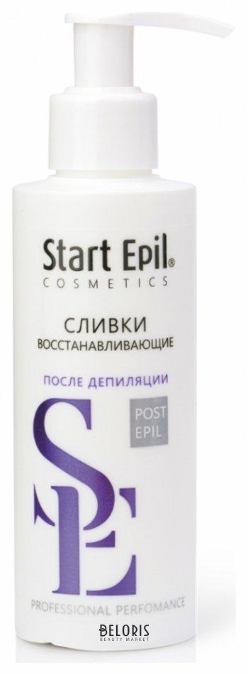 Сливки для тела Start EpilСливки для тела<br>Назначение: для сухой кожи. Применяется для увлажнения, питания и защиты кожи на завершающем этапе депиляции. Активные компоненты: масло ши, альфа-бисаболол, витамин А, витамин Е, витамин С Сливки восстанавливающие предназначены для завершающего ухода за кожей после процедуры депиляции. Насыщенная текстура сливок обеспечивает интенсивное питание и восстановление кожи. Сливки прекрасно увлажняют, смягчают и освежают кожу. Легко снимают раздражение и покраснение. Альфа-бисаболол обладает антиоксидантными свойствами, успокаивающим и заживляющим эффектом. Комплекс витаминов А, С, Е способствует регенерации клеток, разглаживает рельеф кожи и повышает упругость. Сливки быстро впитываются, не оставляя жирного блеска. Примечание: хранить в сухом месте при комнатной температуре.<br>Пол: Женский; Объем мл: 160;