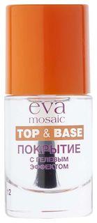 Покрытие для ногтей с гелевым эффектом  Eva Mosaic