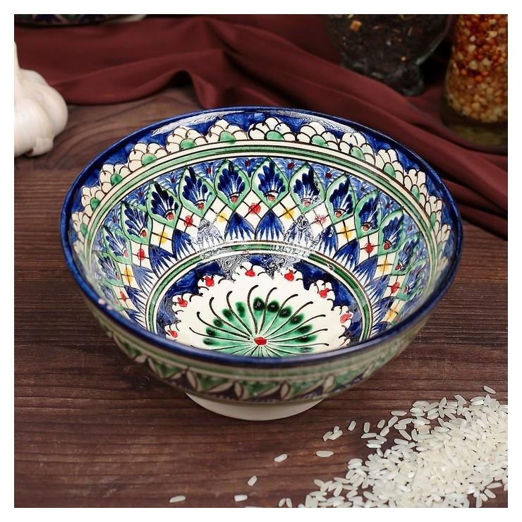 Коса малая риштанская керамика 15см Риштанская керамика