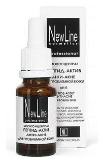 Пептид-актив анти-акне для проблемной кожи pH 5  New Line