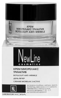 Крем миорелакс триактив  New Line