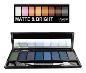Тени для век цветные Matte & Bright  Lavelle