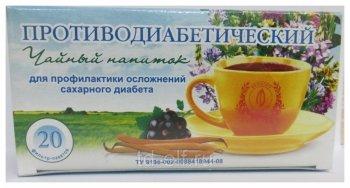 Сахароснижающие чаи при диабете 1 типа