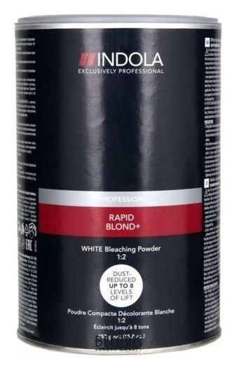 Порошок для волос IndolaПорошок для волос<br>1. Порошок Индола Блонд Эксперт создан для достижения максимально светлого оттенка блонд на темной базе или на окрашенных волосах. 2. Уникальная комбинации активных элементов в составе порошка обеспечивает до 7 уровней обесцвечивания. ОСОБЕННОСТИ Indola Blond Expert Bleach Powder: 1. Высокая нейтрализация остаточной желтизны за счет антижелтых агентов. 2. Действует путем целенаправленного воздействия на пигмент феомеланина в волосах и приглушения желтого оттенка. 3. Комбинация с кремом-проявителем (2%-9%) Индола дает мягкую кремообразную консистенцию.<br>Пол: Женский; Вес г: 450;