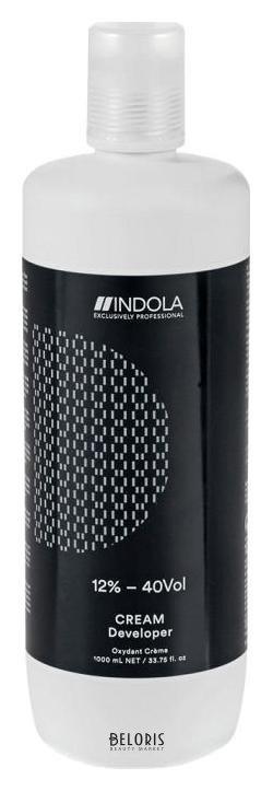 Оксидант для волос IndolaОксидант для волос<br>Indola Profession Developer - Оксид 9% 30vol для стойкой крем-краски для волос (1000 мл). Крем-проявитель Profession обеспечивает эффективный процесс окисления, быстрое смешивание с красителями Profession и продуктами для осветления Indola. - 2% (7 vol) Тонирование обесцвеченных, ранее окрашенных волос. - 6% (20vol) Окрашивание тон-в-тон, на 1 тон темнее/светлее, для седых волос. - 9% (30vol) На 2-3 тона светлее, оттенки Fashion  Red, Blonde Expert, Contrast, с .00. - 12%(40vol) Оттенки Blonde Expert, Contrast.<br>Пол: Женский; Цвет: 12% 40vol; Объем мл: 1000;