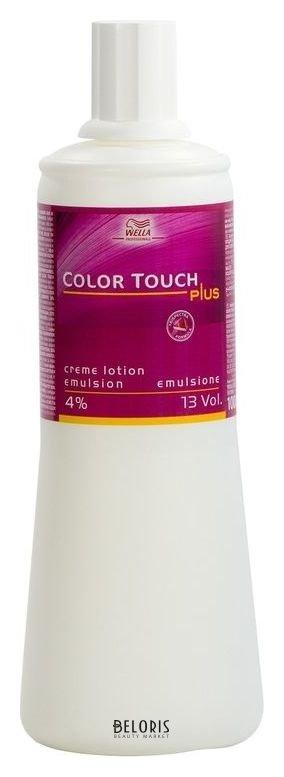 Окислитель для волос WellaОкислитель для волос<br>Комплекс активных компонентов, входящих в состав окислителя Color Touch plus, обеспечивает отличную смешиваемость, превосходный косметический вид красящей массы, а также равномерное проникновение красящих пигментов в структуру волос. С уникальным окислителем Color Touch plus от Wella процесс окрашивания станет максимально быстрым, комфортным и эффективным. Ваши волосы приобретут яркий насыщенный цвет на долгое-долгое время.<br>Пол: Женский; Объем мл: 1000;