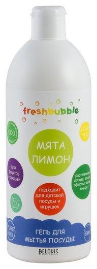 Гель для мытья посуды Мята и Лимон Levrana Freshbubble