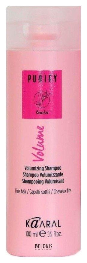 Шампунь для волос KaaralШампунь для волос<br>Его формула, обогащенная экстрактами бамбука, женьшеня и маслом сладкого миндаля укрепляет волосы, способствует выработке собственного коллагена, придавая объём, поддержку и эластичность. Волосы здоровые, сильные и объёмные.<br>Пол: Женский; Линейка: PURIFY уход, питание, защита; Объем мл: 100;