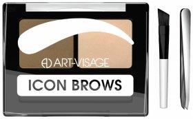 """Двойные тени для бровей """"Icon brows""""  Art-visage (Арт визаж)"""