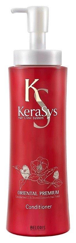 Кондиционер для волос KeraSysКондиционер для волос<br>Защищает от ультрафиолетовых лучей. Восточные травы помогают защитить кожу головы от вредных воздействий и компенсируют нехватку коже липидов. Присутствующие в составе ингредиенты укрепляют корни волос. Дуопротеин восстанавливает поврежденные волосы. Кератин делает поврежденные волосы более здоровыми и шелковистыми. Специально разработанная формула для всех типов волос, в том числе поврежденных и ослабленных. Масло камелии укрепляет хрупкие и ломкие волосы, делает их шелковистыми по всей длине. Кератиновый комплекс питает и разглаживает поврежденный волос. Композиция из шести традиционных восточных трав (женьшень, жгун-корень, орхидея, ангелика, гранат, листья камелии) укрепляет корни волос и предотвращает преждевременное выпадение. Волосы обретают жизненную силу, блеск и эластичность. Оказывает солнцезащитное действие. Эффективность применения доказана клинически институтами дерматологии Германии и США. Тип волос: все типы волос, в том числе ослабленные и поврежденные. Результат применения: в 1,6 раза более мягкие и послушные; на 79% меньше ломкости волос.<br>Пол: Женский; Линейка: Oriental; Объем мл: 600;