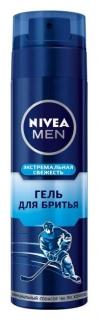 """Гель для бритья """"Экстремальная свежесть""""  Nivea"""