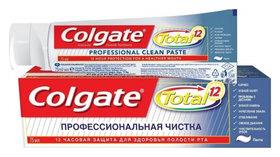 """Зубная паста Total 12 """"Профессиональная чистка""""  Colgate"""